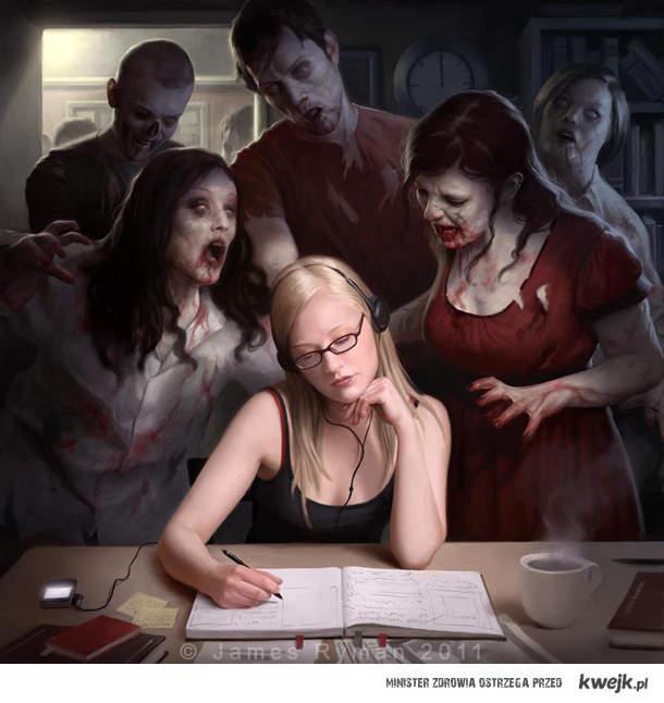 Zombie i studentka