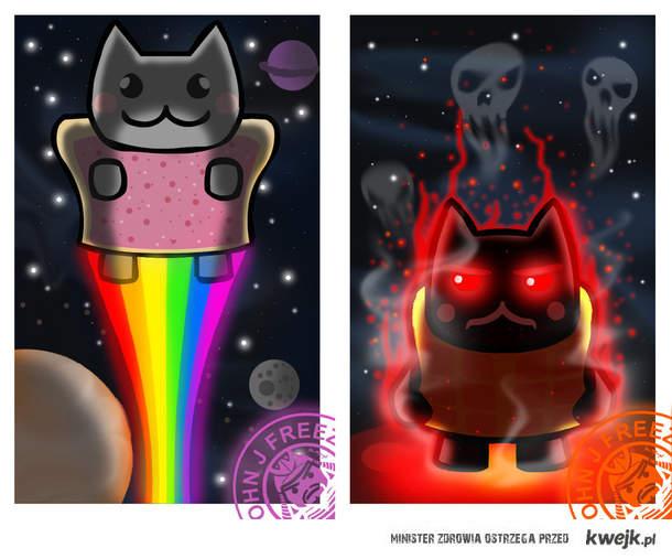 Nyan Cat vs. Tac Nayn