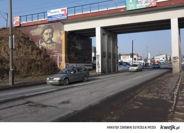 Północny wjazd do krakowa