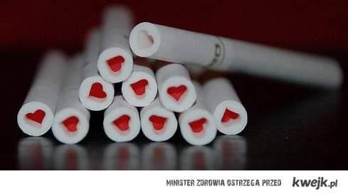 Papierosy z sercami