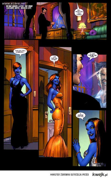 Mystique & Wolverine