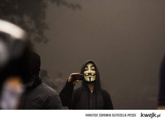anonymous - bye Facebook