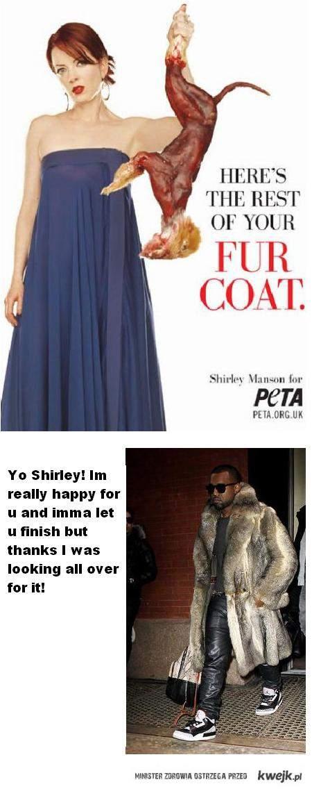 Kanye fur