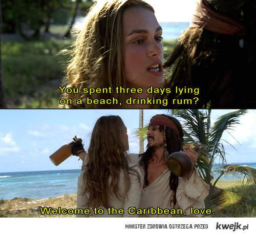 Piraci z Karaibów ;p