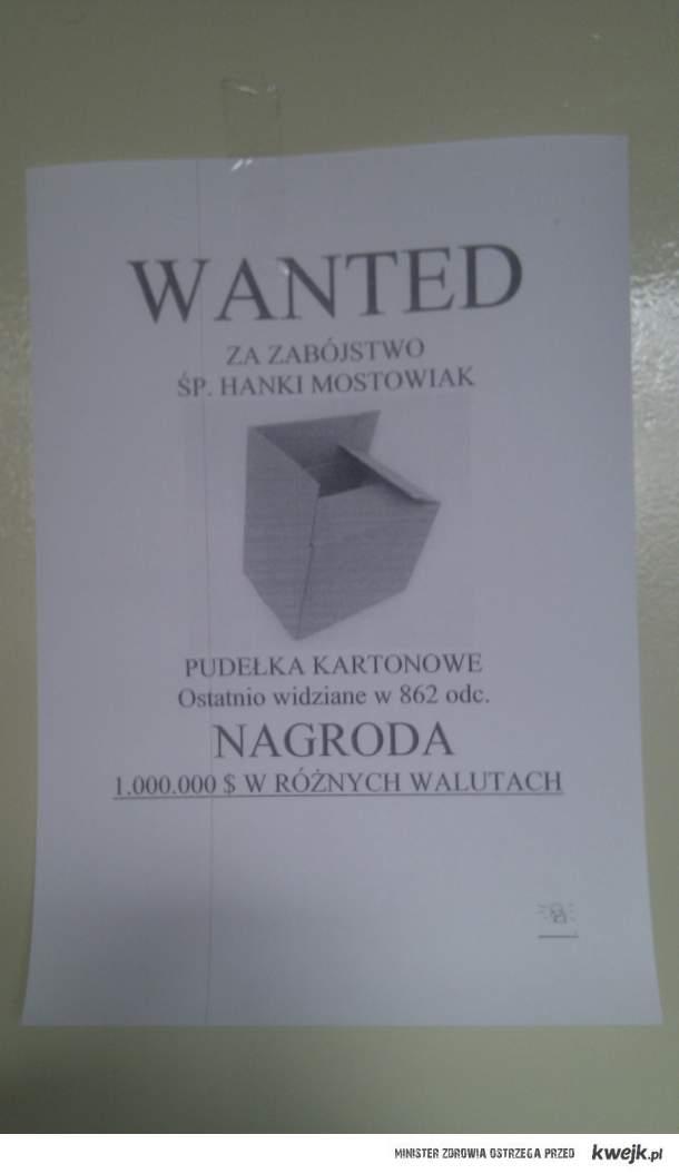 X LO W Krakowie opłakuje Hankę...
