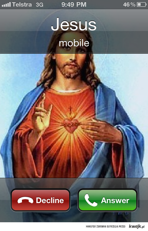 jezus dzwoni