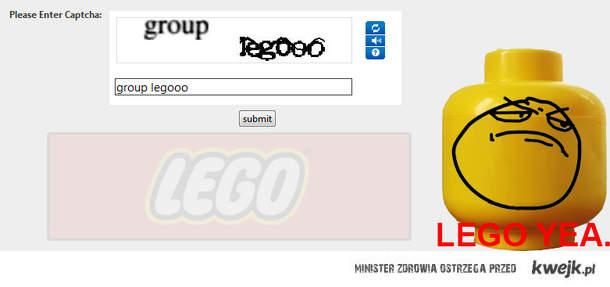 Lego Captcha