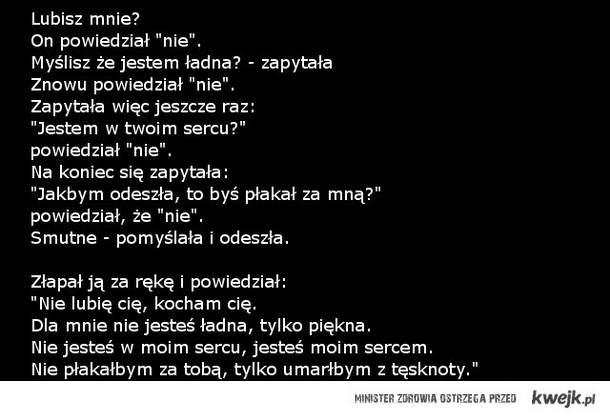 lubisz mnie?