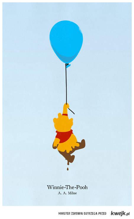 kubuś na balonie