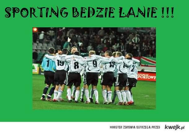 Sporting będzie lanie!!!