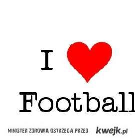 Kocham piłkę.