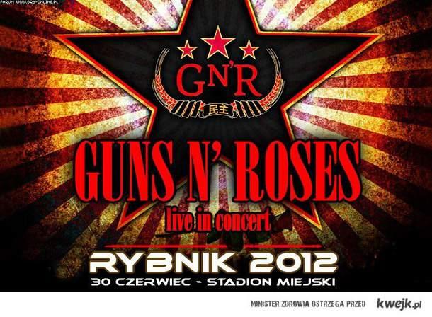 Guns n' roses Koncert