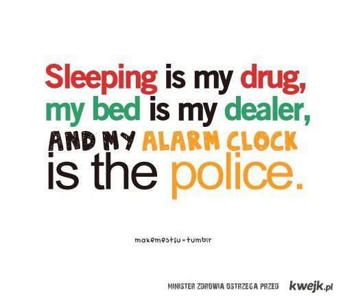 sleeping <3