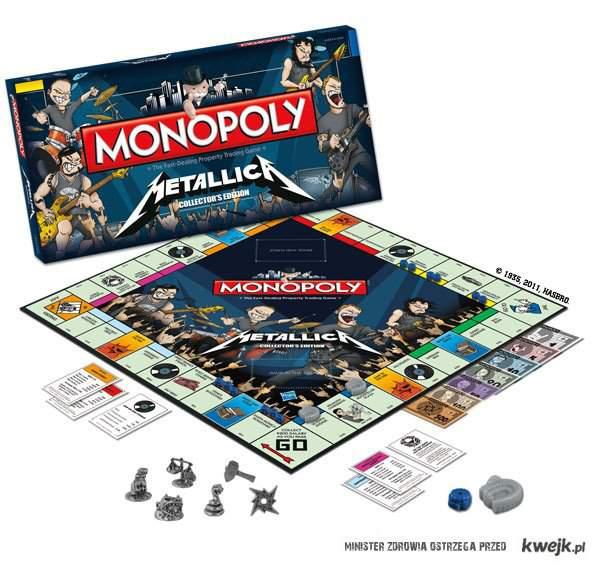 metallica monoply