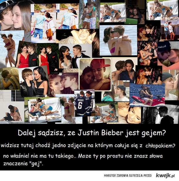 Justin Bieber jest gejem?