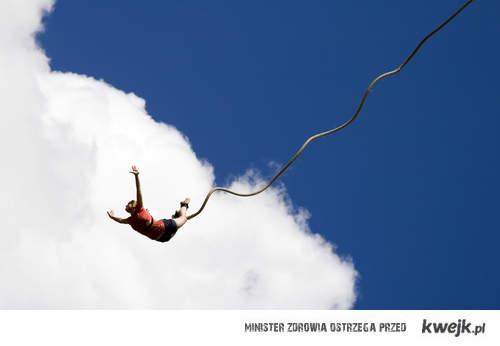 chce skoczyć na bungee <3