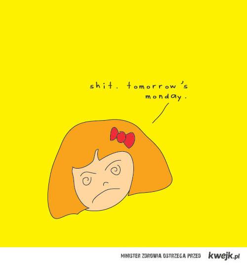 jutro poniedziałek