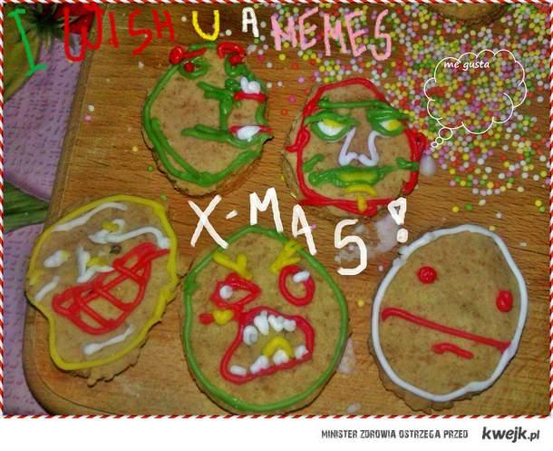 I wish U a memes X-MAS!