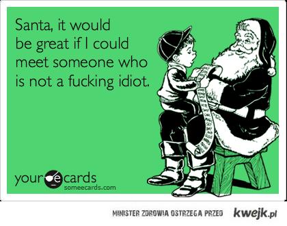 santa please