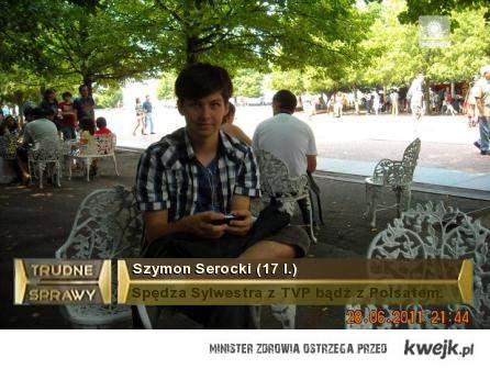 biedny Szymon w SD