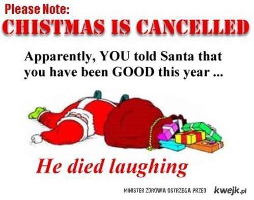 świąt nie będzie ! :p