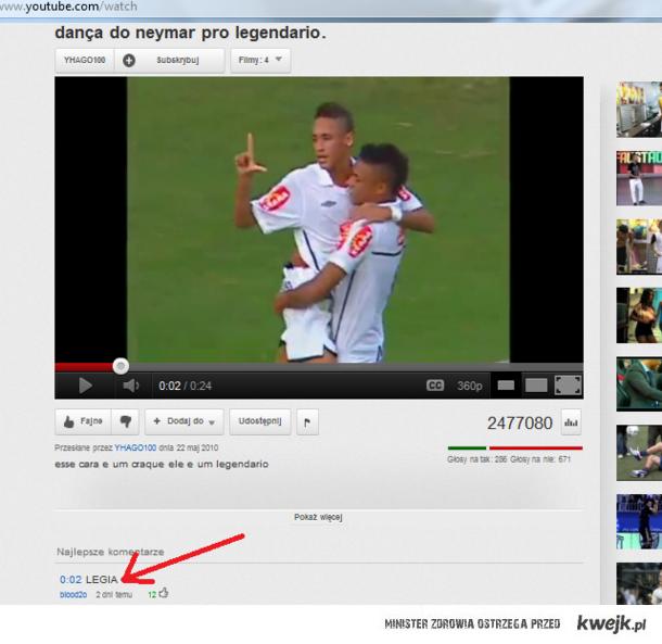 Neymar i Legia ?
