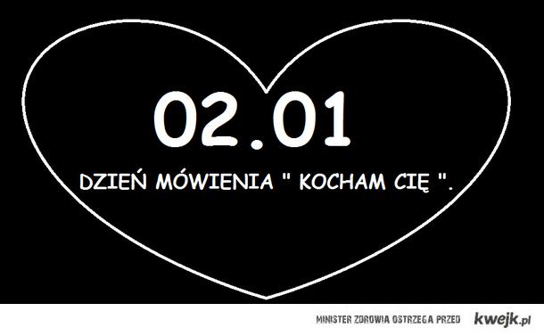 - kocham cię!