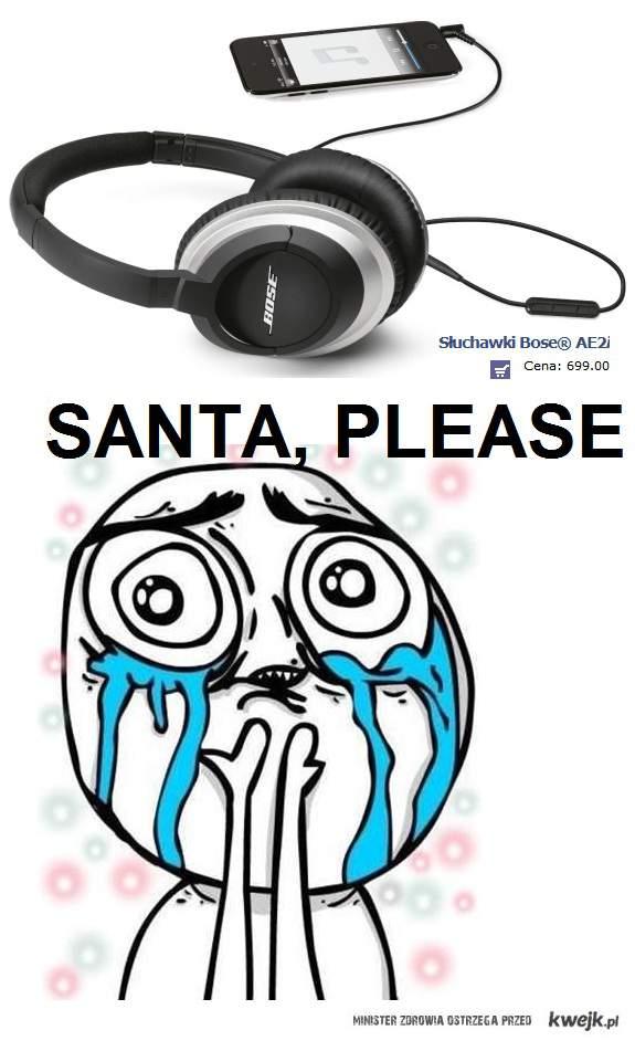 Santa, please