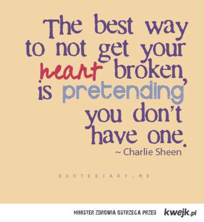upewnij sie, ze nie masz zadnego serca
