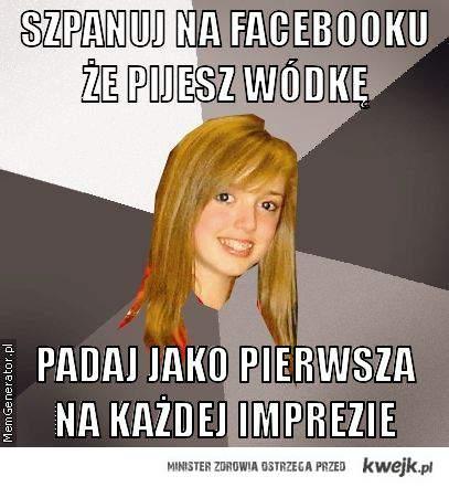 wódka na facebooku