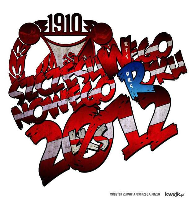 Kibice Widzewa życzą szczęśliwego Nowego Roku!