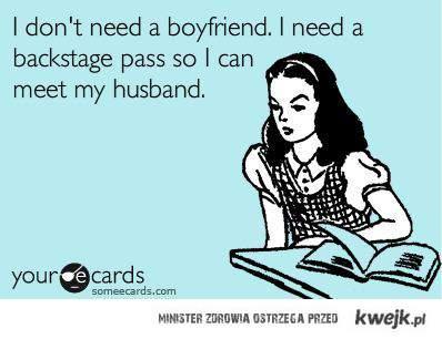 I don't need a boyfriend.