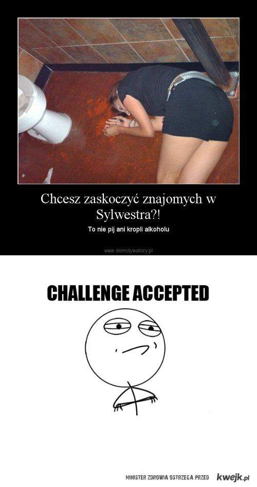 Sylwester-challenge accepted
