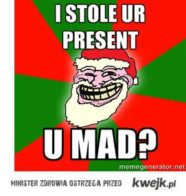 Troll Santa