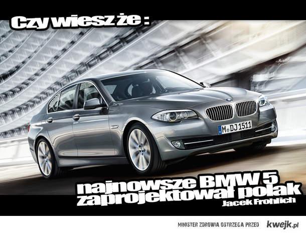 polak zaprojektował BMW 5