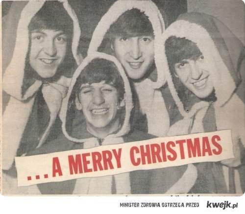 Merry Christmas from The Beatles ;)