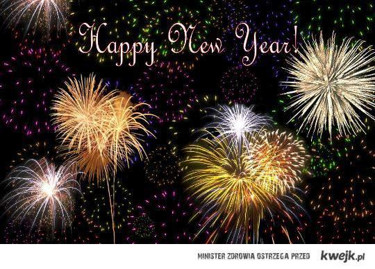 Szczęśliwego Nowego Roku ;)