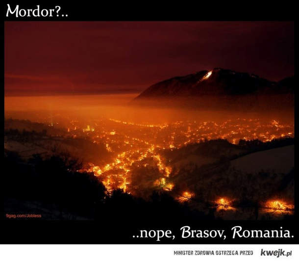 Mordor?