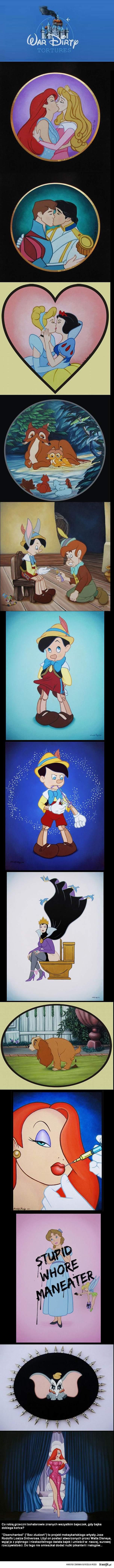 Niegrzeczni bohaterowie Disneya