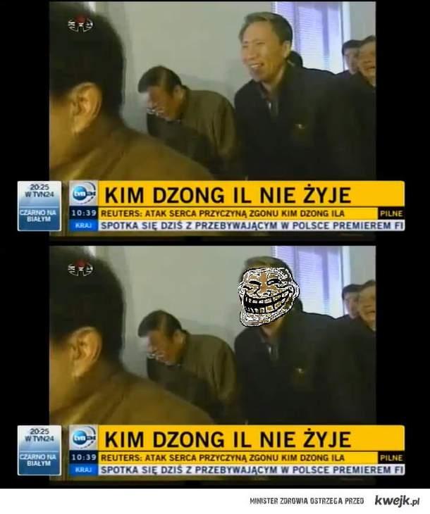 Kim Dzong Il nie żyje