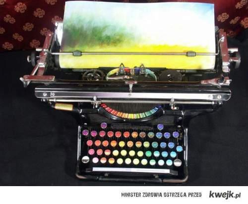 maszyna z kolorami