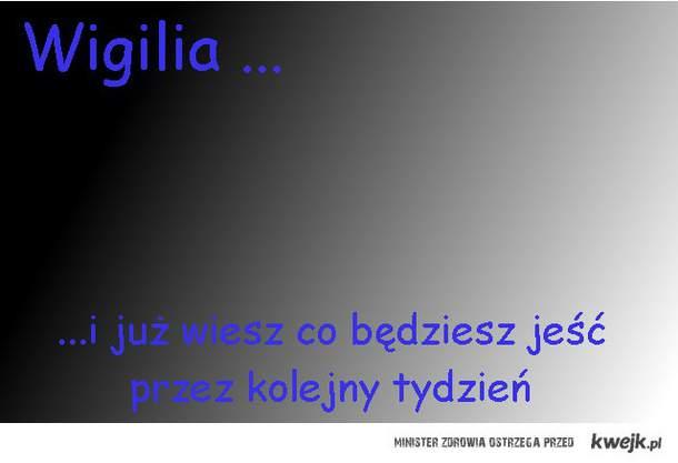 Wigilia...