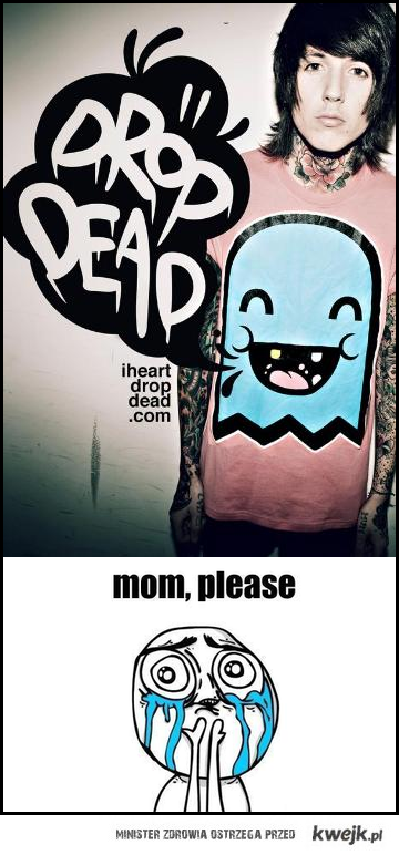 Oliver Sykes - mom, please <3