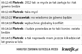 Rozważania 2012