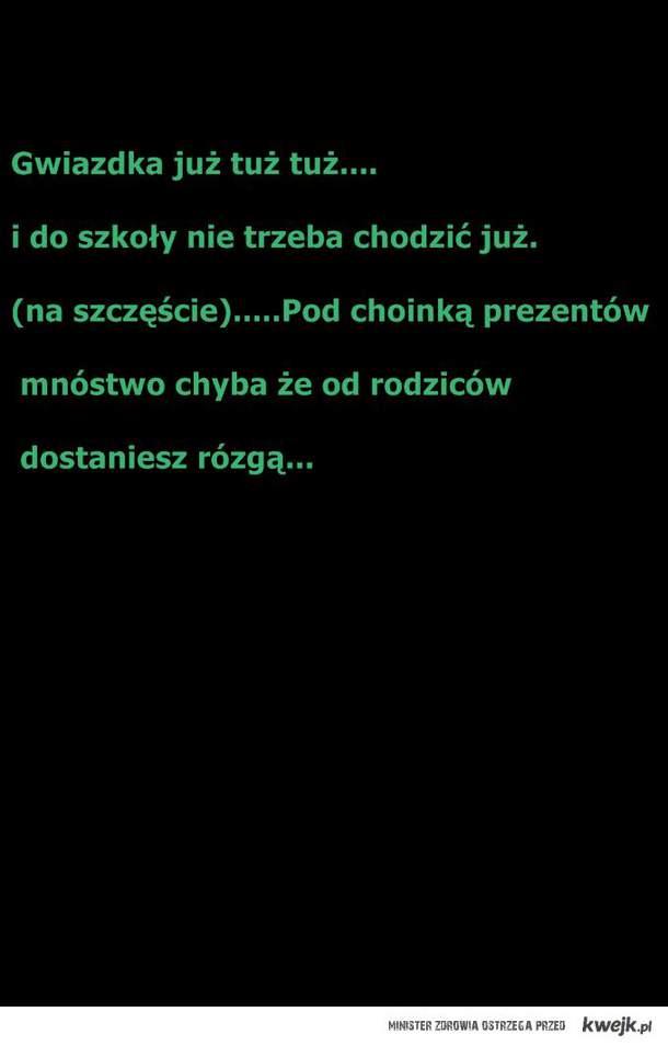wierszyk o swiętach