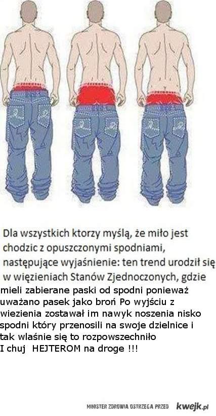 spodnie - prawda