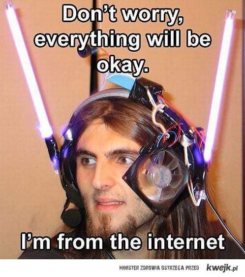 przybysz z internetu