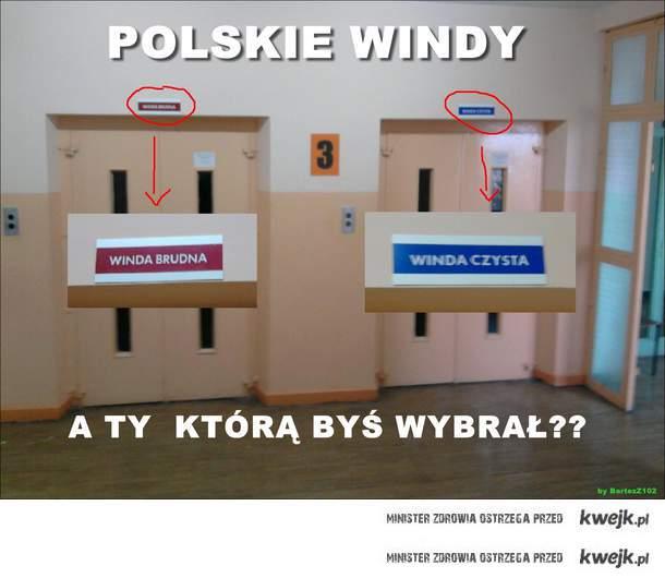 polskie windy