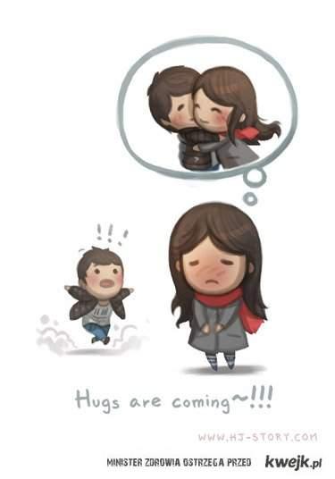 przytulenie
