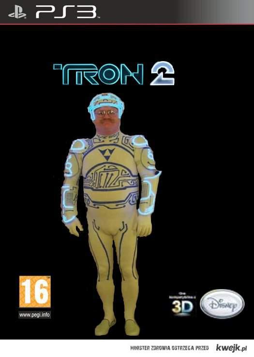 Tron 2 game  - Back Komorowski
